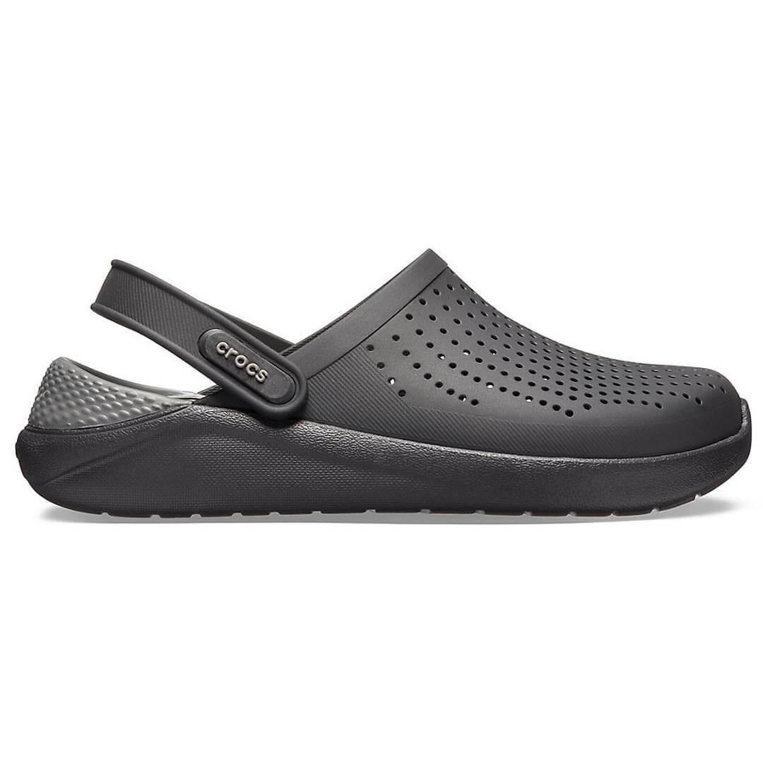 Сабо Crocs LiteRide Clog Black Slate Grey