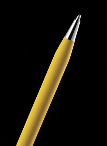 Cross Classic Century - Ferrari Matte Modena Yellow Lacquer/Chrome, шариковая ручка123
