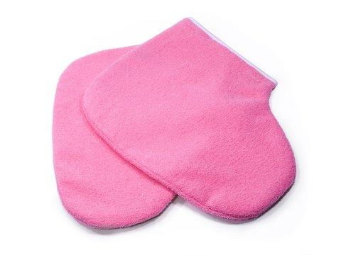 Утеплители для ног, махровые, цвет: розовый - 1 пара