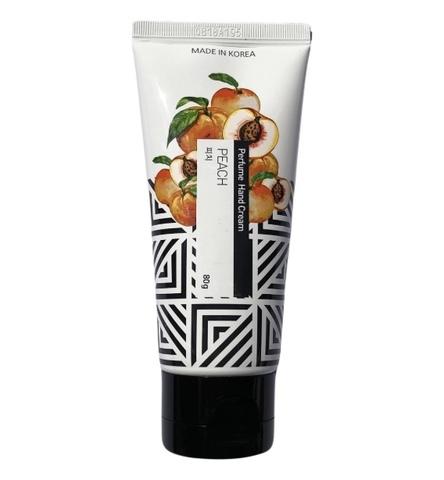 Крем для рук с экстрактом персика Jungnani Perfume Hand Cream