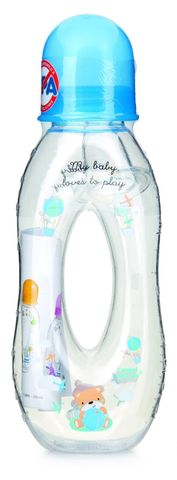 Canpol babies. Бутылочка с отверстием антиколиковая, тритановая, 6+, 250 мл, синяя