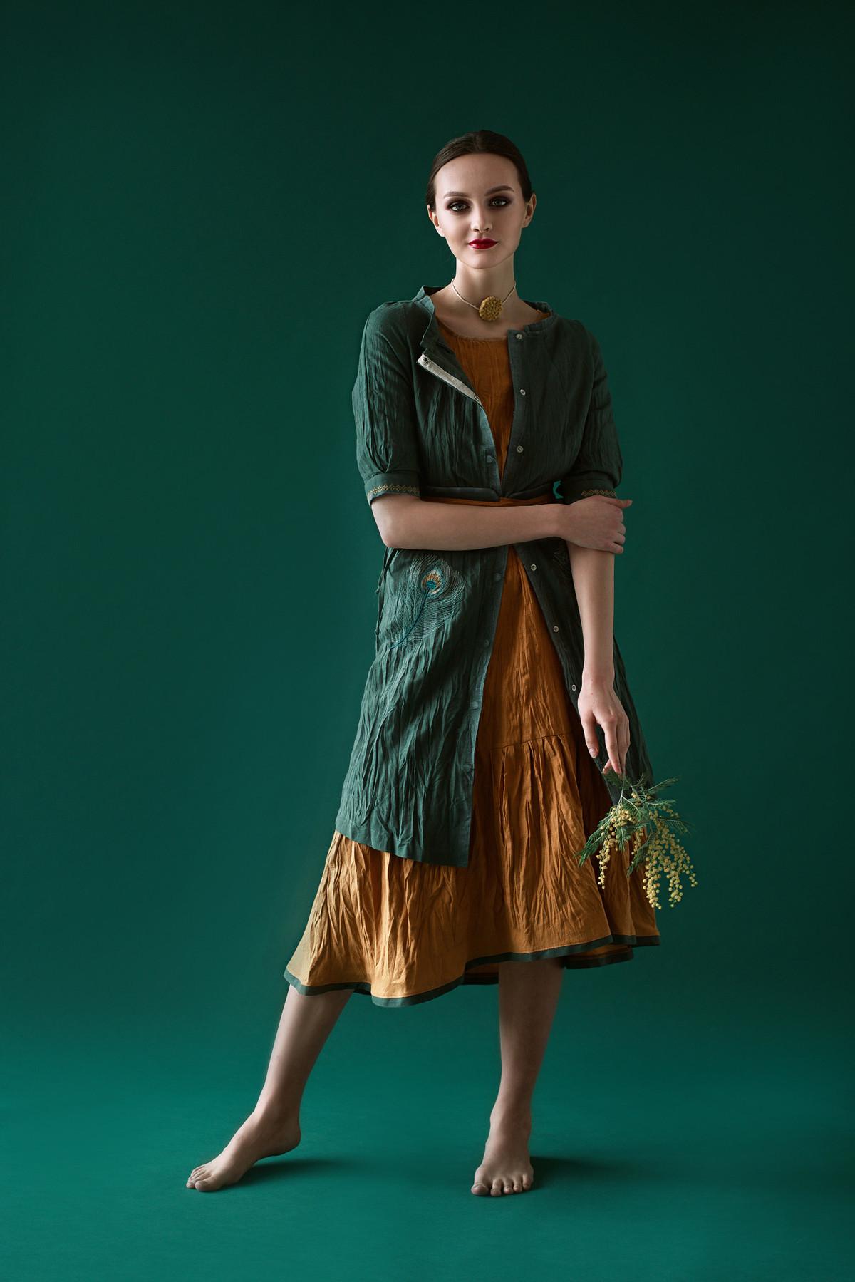 Рита. Платье-жакет CV-4145