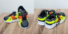 Обувь дет. № 5 Детские Кроссовки Спорт Салатовые-Темно-синии