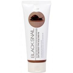 JIGOTT Гель с муцином черной улитки Premium Facial Black Snail Peeling Gel
