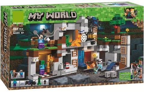Конструктор My World 10990 Приключения в шахтах