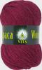 Пряжа Vita Alpaca Wool 2986 (Винный)