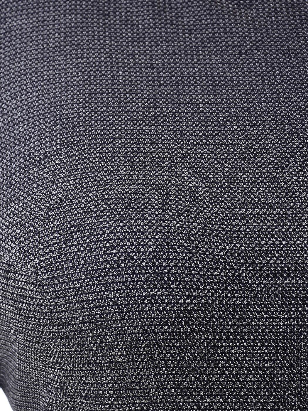 Блуза свободная из меланжа
