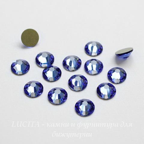 2028/2058 Стразы Сваровски холодной фиксации Sapphire ss12 (3,0-3,2 мм), 10 штук ()