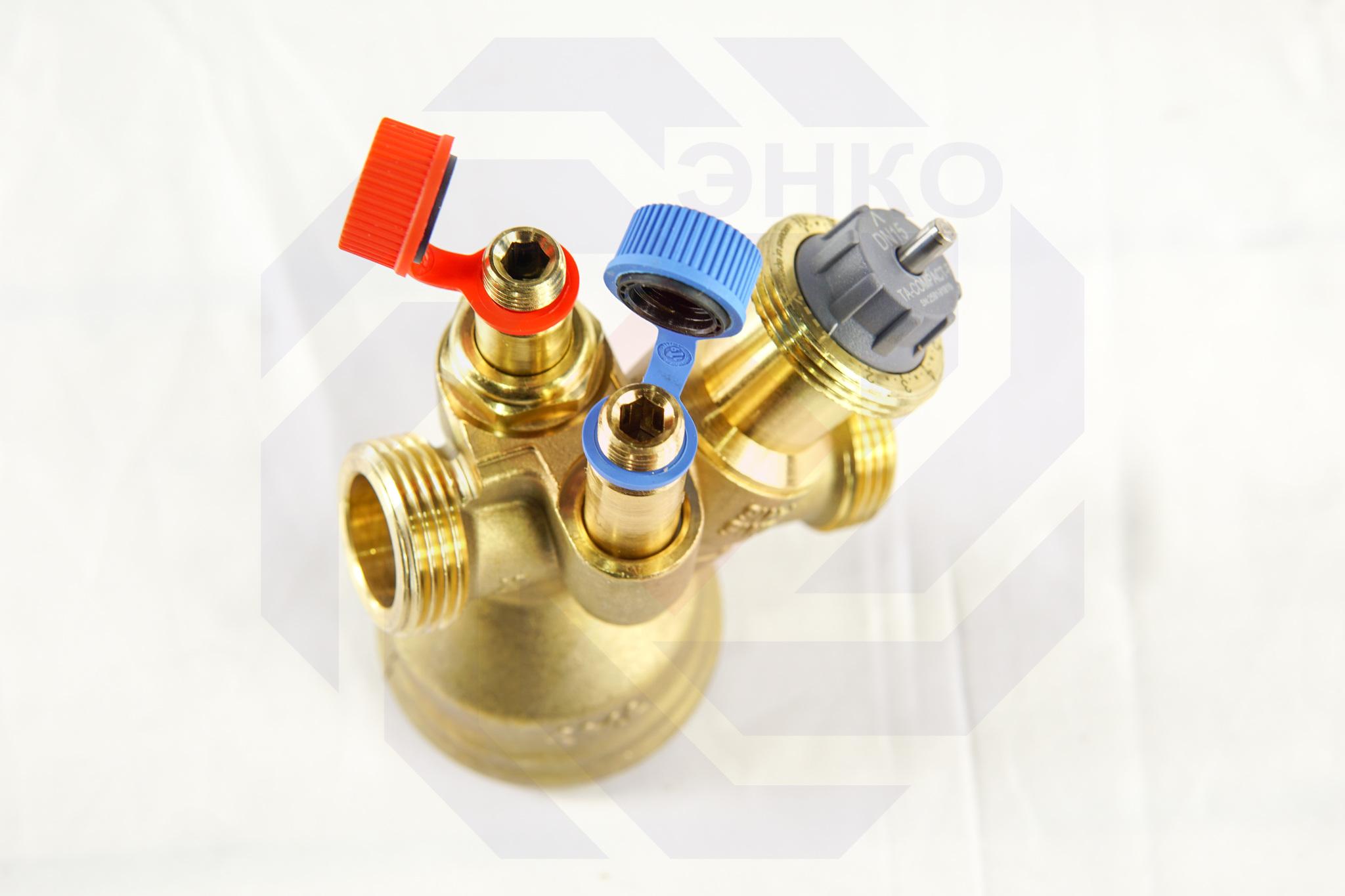 Клапан балансировочный и регулирующий IMI TA-COMPACT-P DN 25