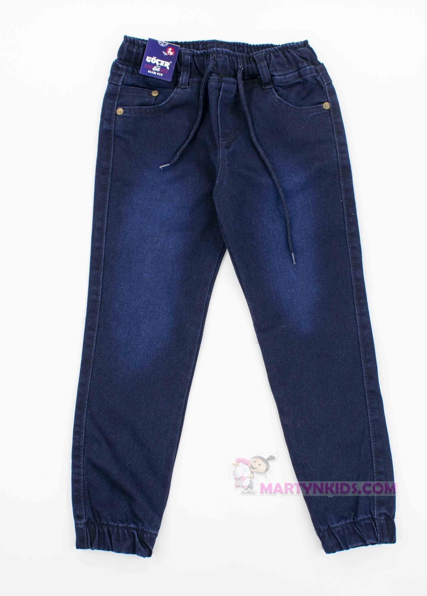 3906 джинсы на резинке флис GOCER подросток