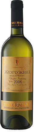 Вино Инкерман Жемчужена Инкермана Grand Reserve белое сухое 0,75л