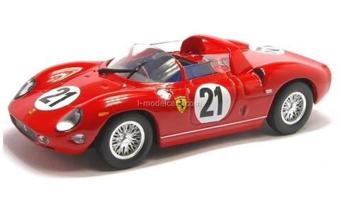 Ferrari 250 P #21 red 1:43 Eaglemoss Ferrari Collection #43