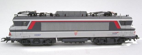 Roco 43780 Электровоз BB 22387, 1:87