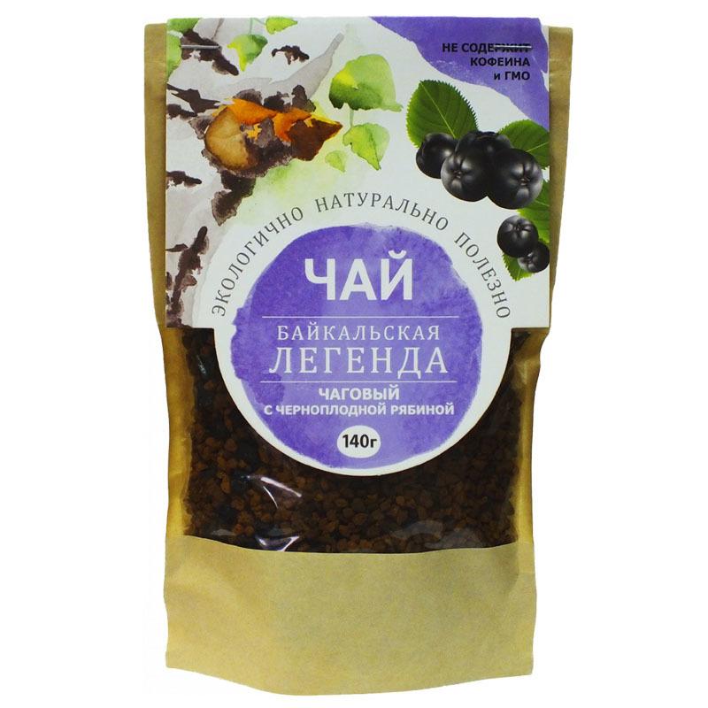 Чай чаговый Рябина черноплодная, 140 гр