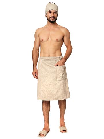 Махровый мужской набор для бани