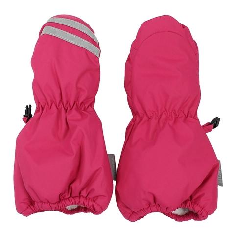 Зимние варежки HUPPA ROY для девочки фуксия