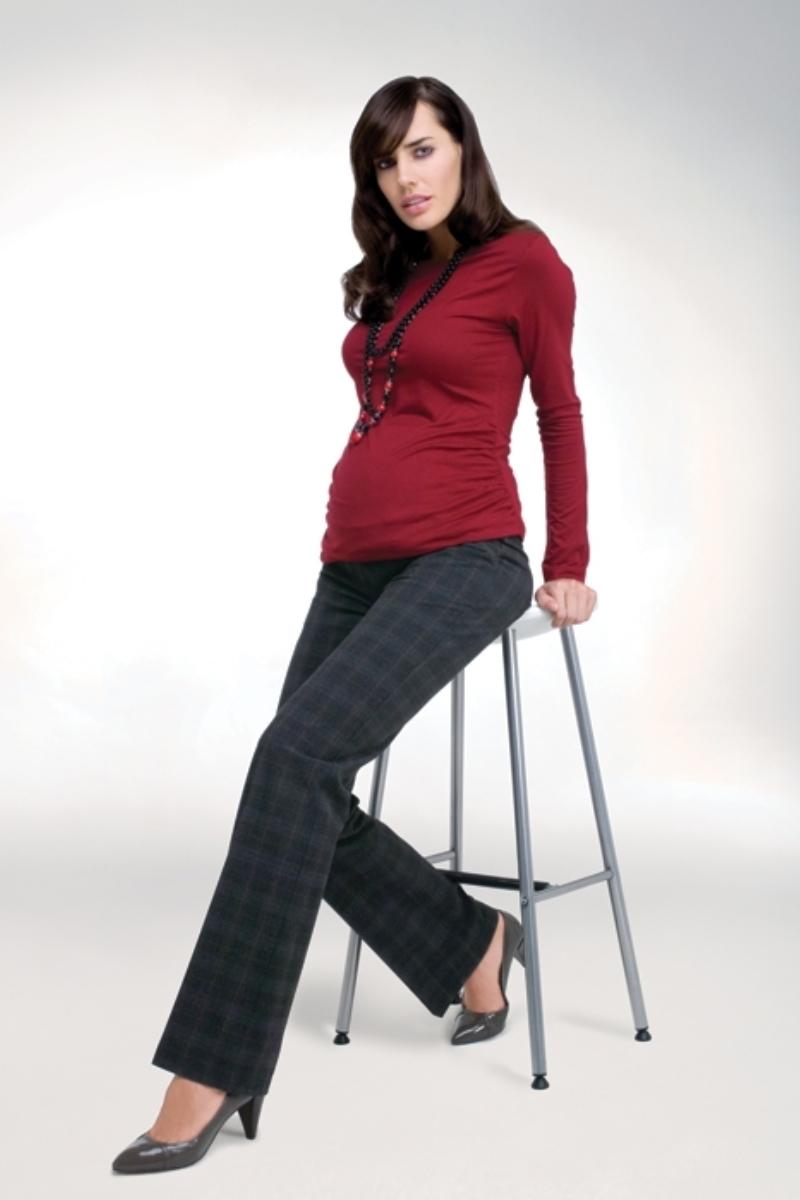 Брюки для беременных 02745 серый
