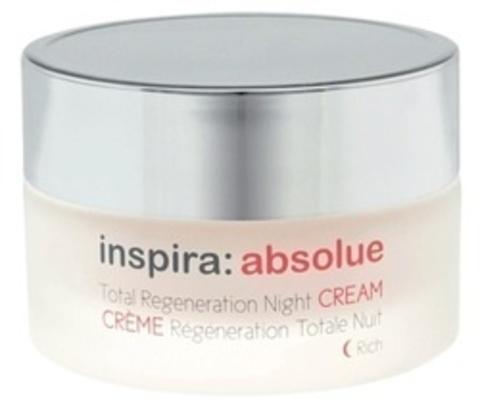 Крем-лифтинг обогащенный регенерирующий ночной ,Total Regeneration Night Cream Rich INSPIRA ABSOLUE ,100 мл