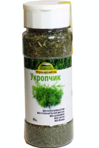 Укроп сушёный 'Здоровая еда' в ПЭТ-банке, 45г