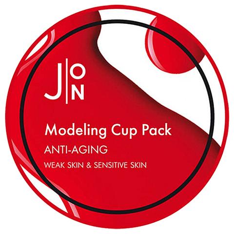 Альгинатная маска для лица АНТИВОЗРАСТНАЯ Anti-Aging Modeling Pack, 18 гр, J:ON