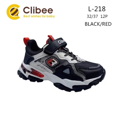 Clibee L218 Black/Red 32-37