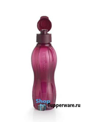 бутылка эко 750мл в цвете бордо И99