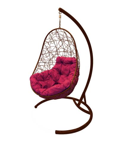 Кресло подвесное Parma brown/burgundy