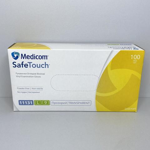 11131 Рукавички вінілові без пудри Medicom