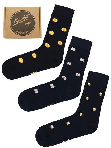 Набор Черных носков 3-79