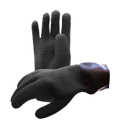 Перчатки латексные Waterproof к сухому г/к для системы колец Antares
