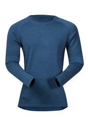 Bergans термобелье футболка 8960 Snoull Shirt Steel Blue