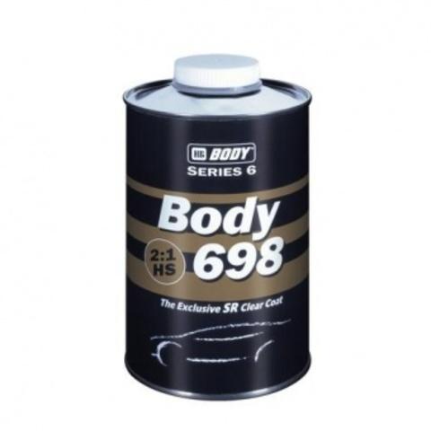 Лак Body 698 HS 2:1 1л комплект (лак 1л+ отв. 0,5л)