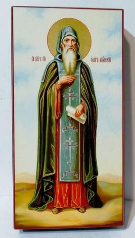 Икона Святой Олег Брянский на дереве на левкасе мастерская Иконный Дом