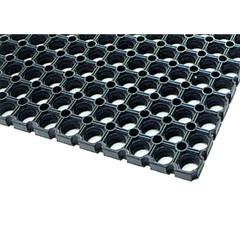 Покрытие грязезащитное резиновое 50х100х1,4 см черное