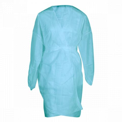 Халат кимоно с рукавами SMS (люкс) голубой, 5 шт.