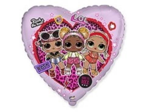 F Сердце, Куклы ЛОЛ в сердце, 18