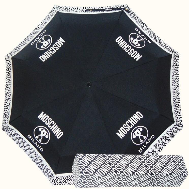 Зонт складной Moschino 8872-A Logo M Charm