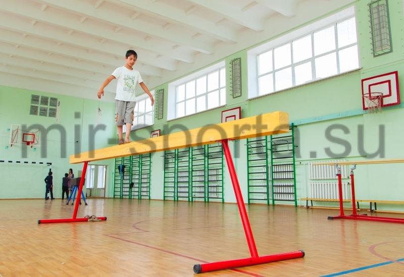 Бревно гимнастическое высокое 5м