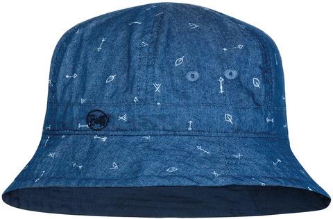Панама детская Buff Bucket Hat Arrows Denim фото 1