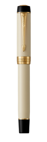 Перьевая ручка Parker Duofold Classic International, Ivory GT, перо: F123