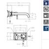 Встраиваемый смеситель для раковины ATICA 752103 - фото №2