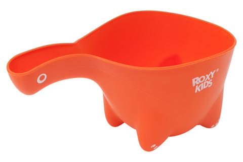 Ковшик для мытья головы Dino Scoop. Цвет оранжевый.