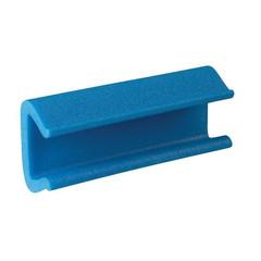 Профиль защитный синий тип 60-80 длина 2 м (10 штук в упаковке)