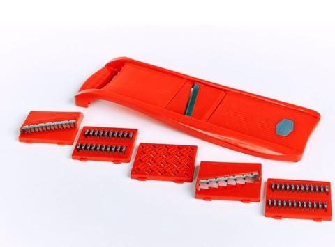 Овощерезка красная 6 ножей