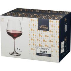 Набор из 6 бокалов для вина «Dora», 600 мл, фото 2
