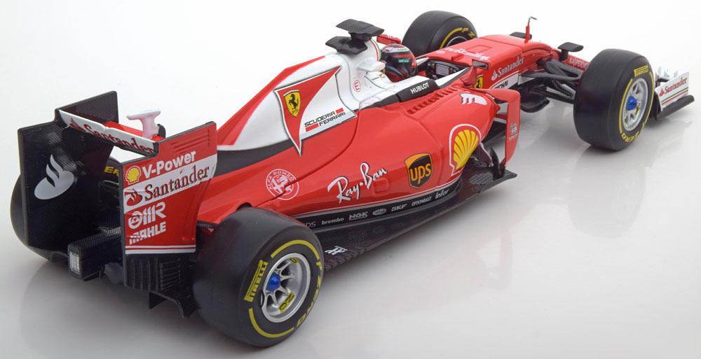 Коллекционная модель Ferrari F1 SF16-H 2016 Raikkonen Special Ray-Ban