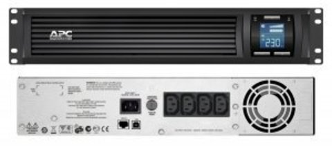 Источник бесперебойного питания SMC1500I-2U APC Smart-UPS C 1500 ВА