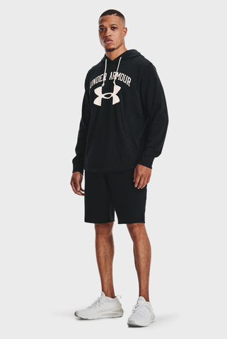 Мужские черные шорты UA RIVAL TERRY SHORT Under Armour