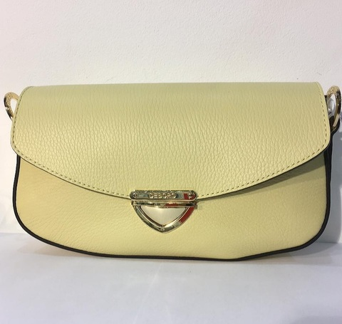 3879 бледно-желтый Сумка Deboro