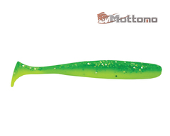 Виброхвост Mottomo Shiner 10см Chartreuse Green 6шт.
